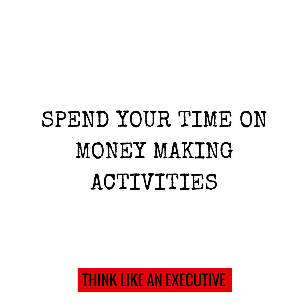 MONEY MAKING ACTIVITIES